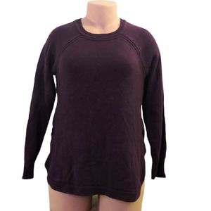 My style maroon sweater size large